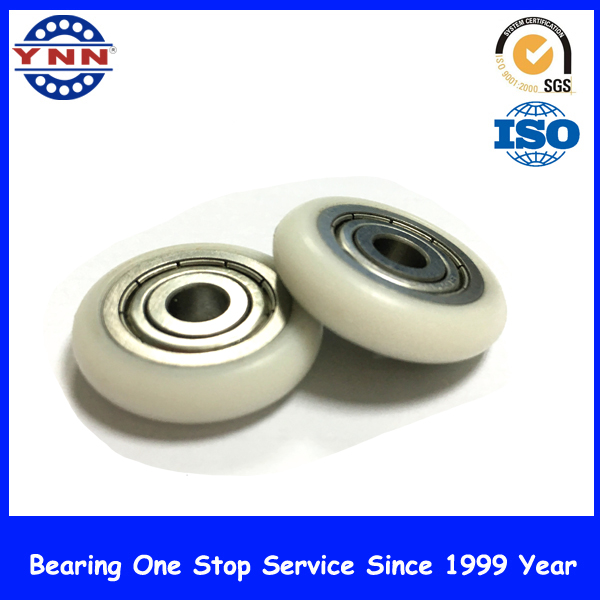 Doors and Windows Caster Skateboard Plastic Roller Wheel Bearing
