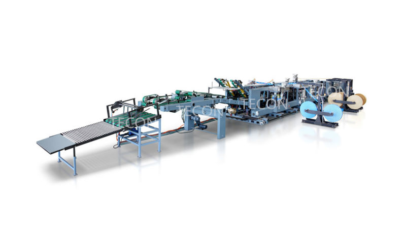 High Speed Automatic Chemical Kraft Paper Valve Bag Making Machine