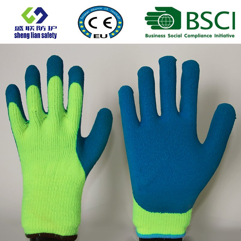 Warmth Glove Foam Latex 3/4 Coated Work Gloves