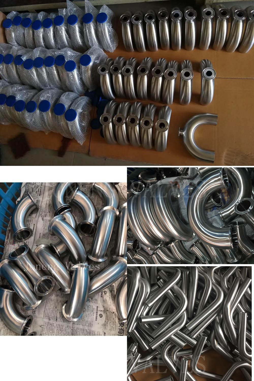 Stainless Steel Low Sulfur Sanitary Hygienic Pipe Fittings (JN-FT3006)