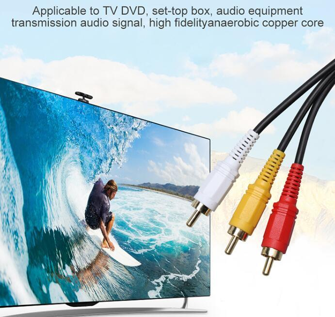 Câble audio et vidéo composite Rac
