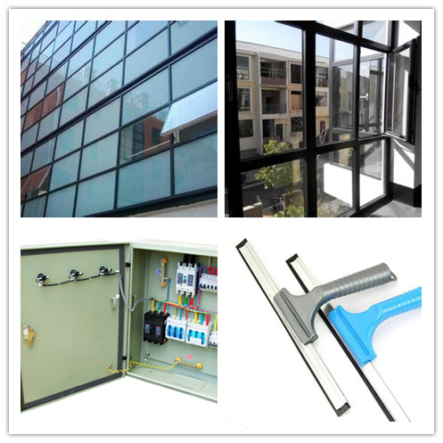 U Shape Extruded PVC Rubber Seals Strip for Door and Window