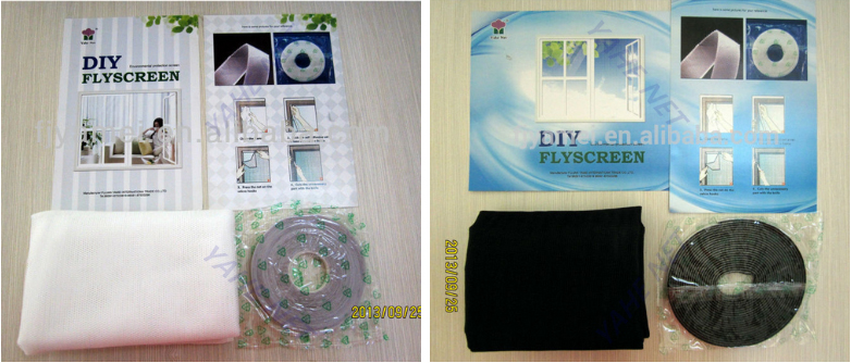 DIY Polyester Magnetic Insect Screens