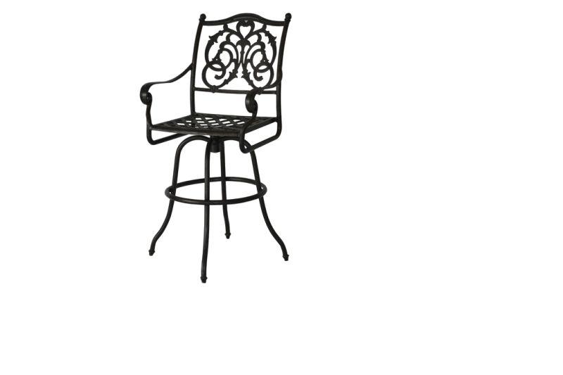Cast Aluminum Outdoor Furniture Bar Stool Patio Furniture