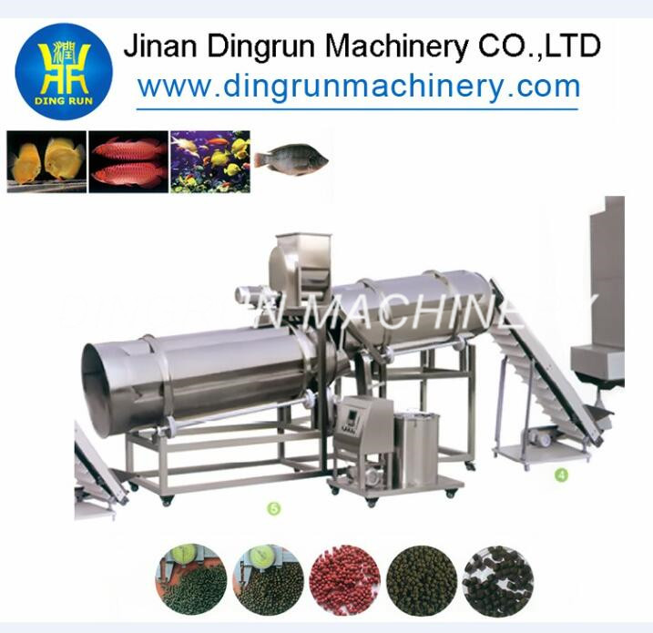 big capacity stainless stee fish feed production line