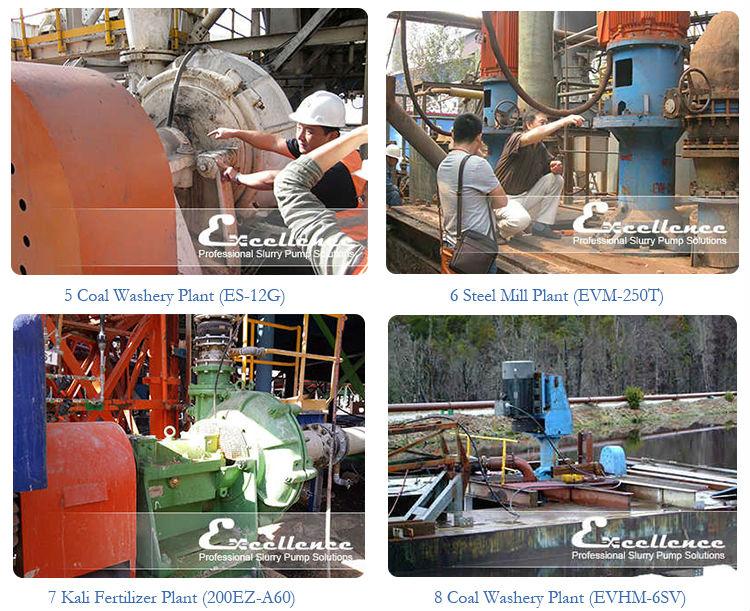 High Pressure Centrifugal Slurry Pump (EHM-12ST)