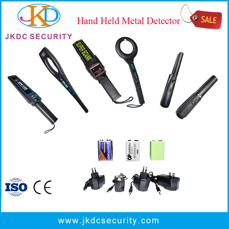 Portable Metal Detector for Body Scanning Security Systems