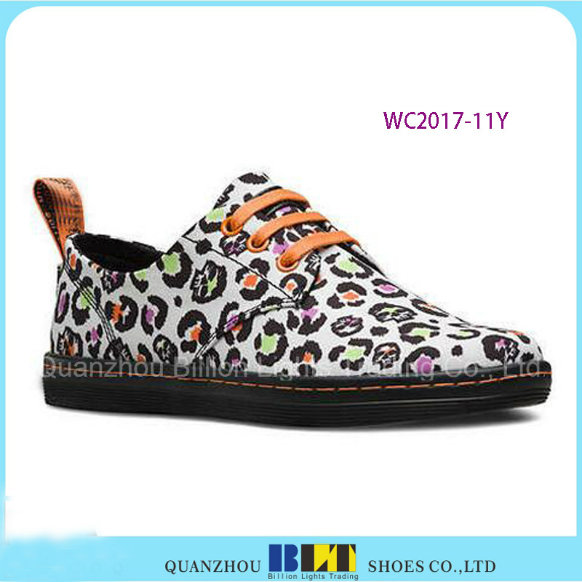 Hot Sale Brand Casual Shoes with Leather White Stan Smith