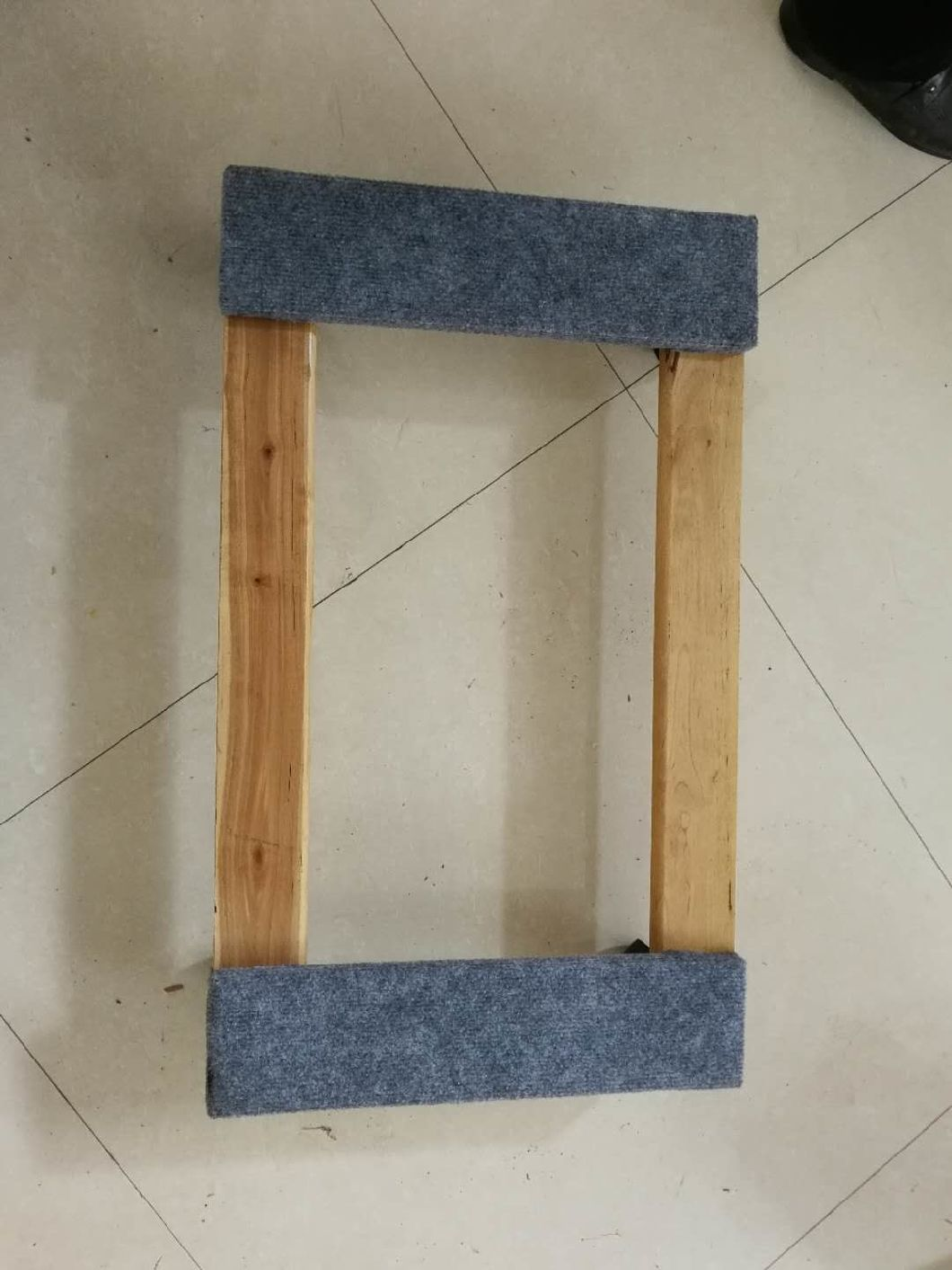 Hot Sale Wooden Platform Moving Dolly Trolley