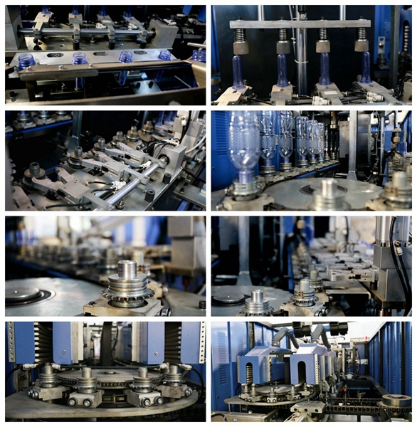 PLC Control Full Auto Bottle Blowing Machinery