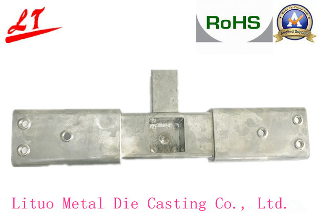 Die Cast Furniture Joint Parts with Grinding Aluminium Alloy
