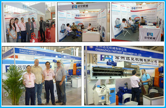 Single Screw Soybean Meal Extruder for Animal Feeds