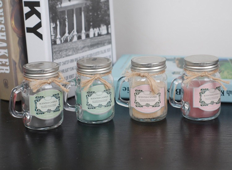 Fragrance Scented Mason Jar Candle