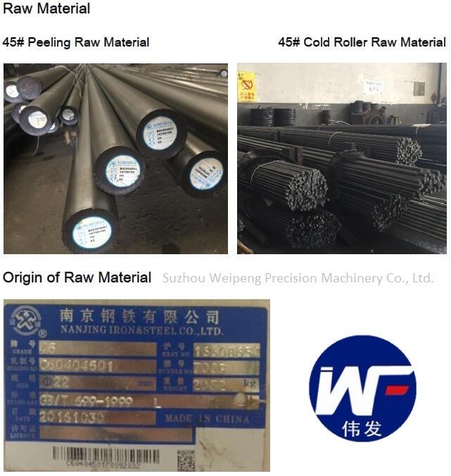 Hydraulic Cylinder Repair Chrome Shaft