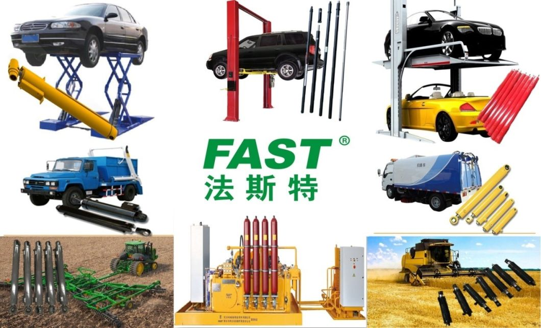 Slave Hydraulic Cylinder for Ground-Type Two Post Car Lift