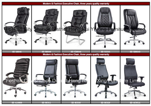 Wooden High Back Leather Executive Boss Office Chair (HX-CR006)