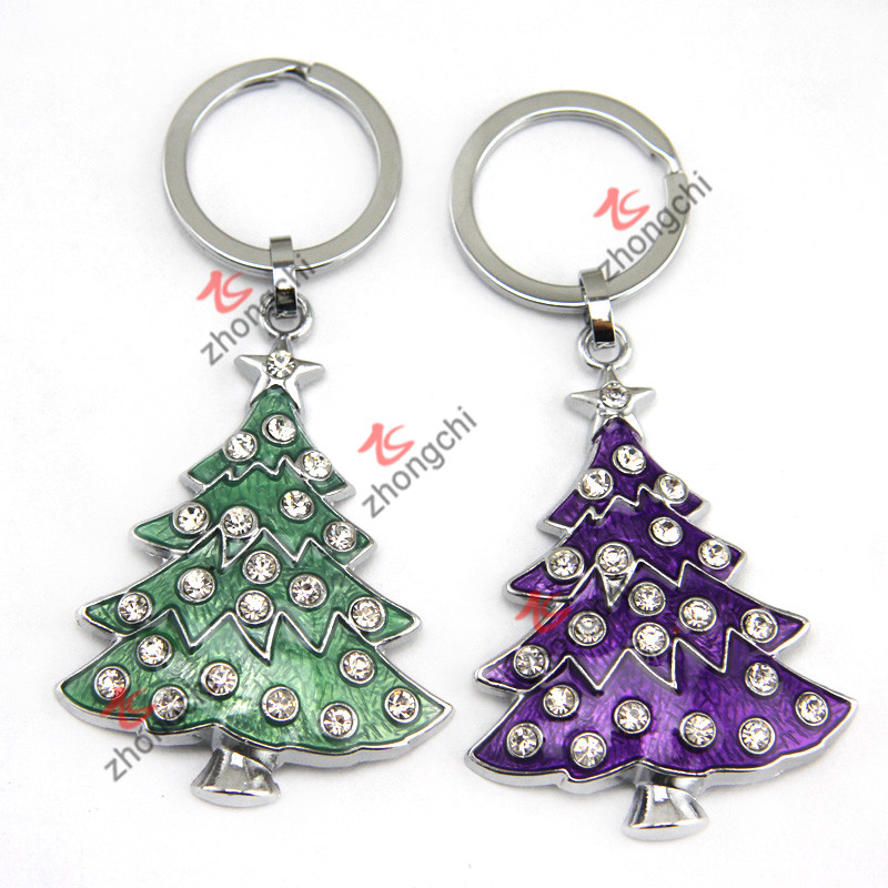 Metal Christmas Keychain for Festival Promotion Gift (KR18)