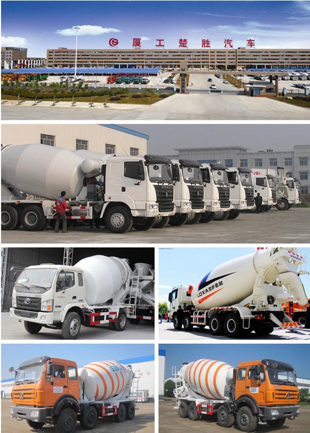 Self Loading Diesel Concrete Mixer 5m3 Concrete Mixer Machine Price
