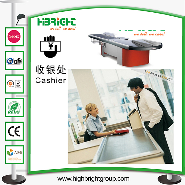 Supermarket Checkout Cashier Counter Table Money Desk