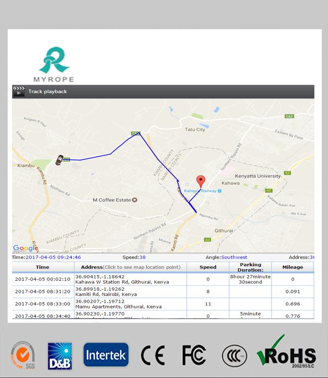 M588 Realtime Vehicle GPS Tracker Truck GPS