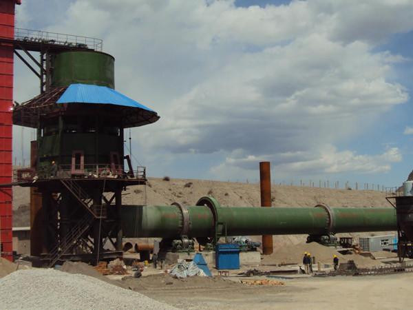 High Efficient Active Lime Rotary Kiln for Lime Production Line