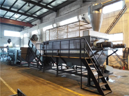 PP PE Film Recycling Machine for Wastic Plastic Washing Granulating
