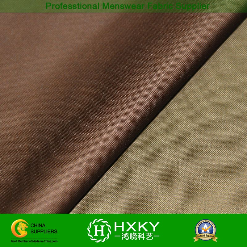 Memory Polyester Fabric for Men's Wind Coat or Jacket