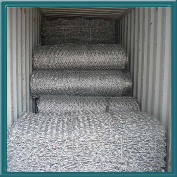 Gabion Box with Galvanized or PVC Coating