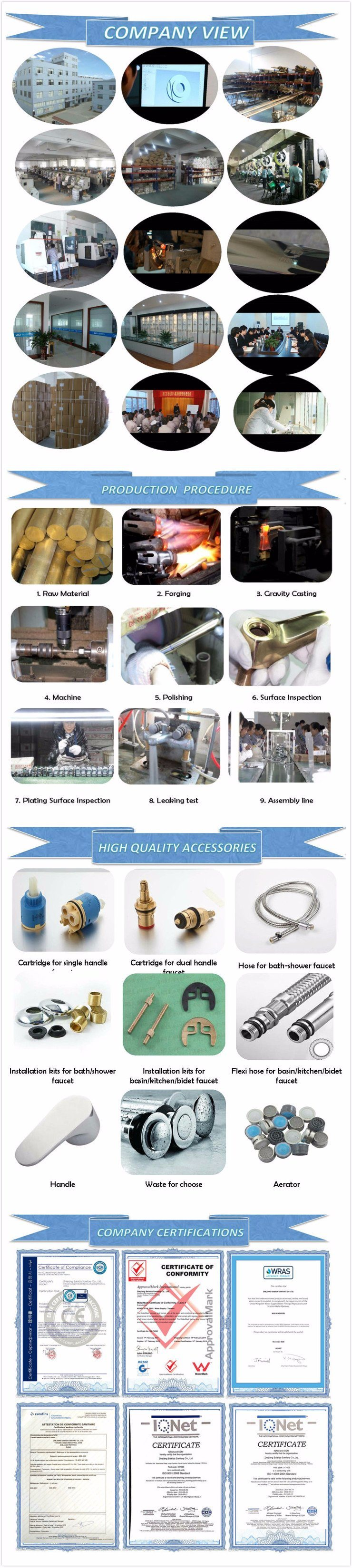 High Quality and Cheap Brass Hot and Cold Basin Mixer