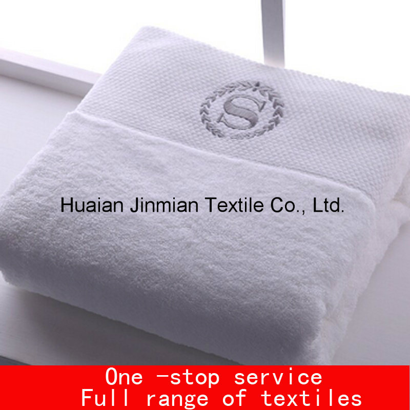 White High GSM Plain Weave Hotel Home SPA Bath Towels Wholesale