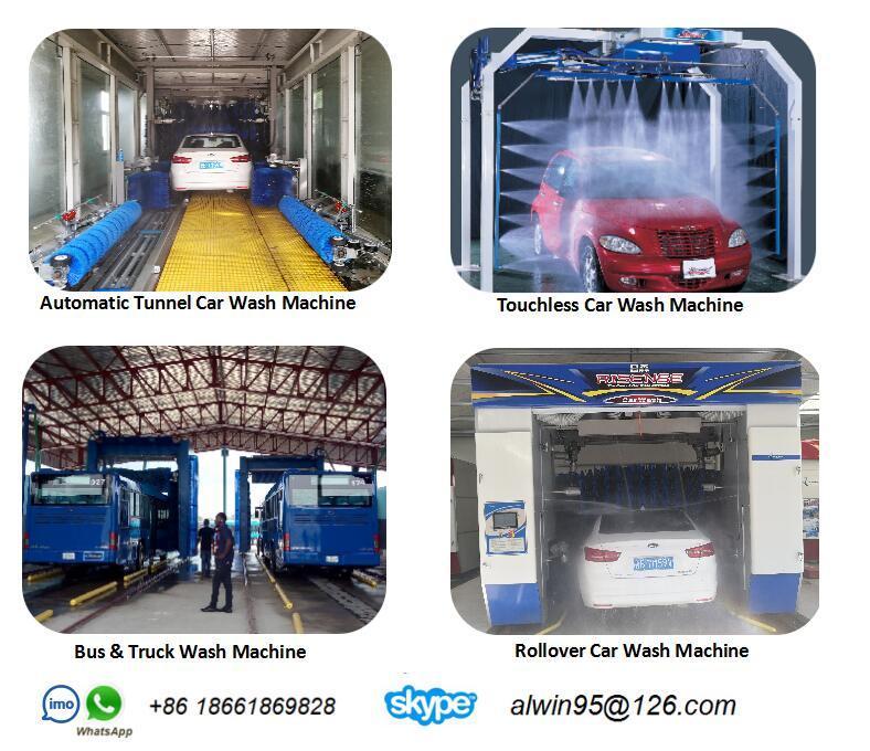Canada Bus Wash Center with Risense Truck Wash Machine