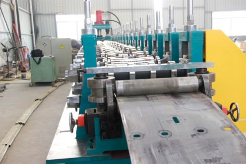 ISO Passed Guard Rail Stamping Press Machinery