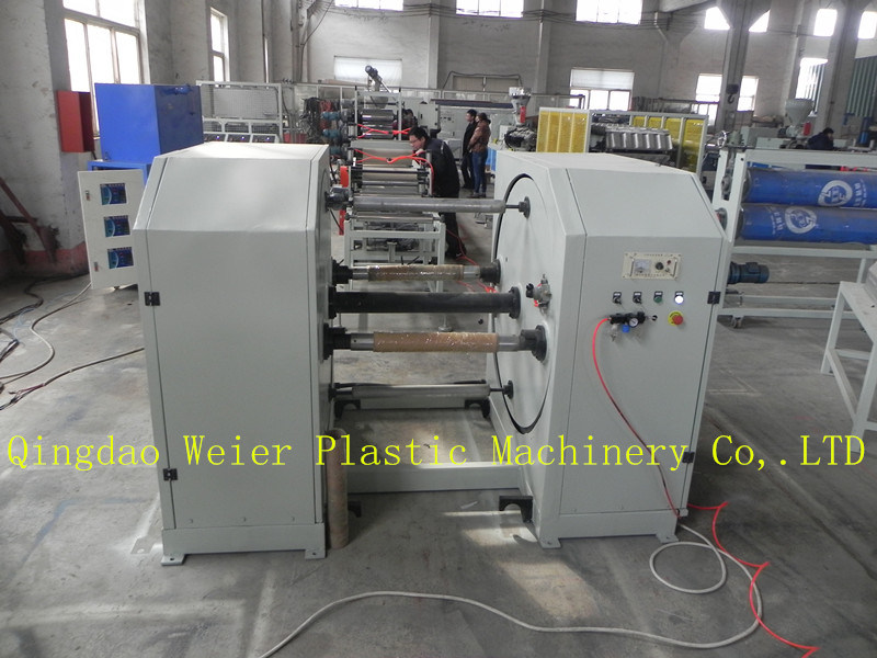 Plastic Extruder Machine PVC Edge Band Extrusion Line with Slitting System