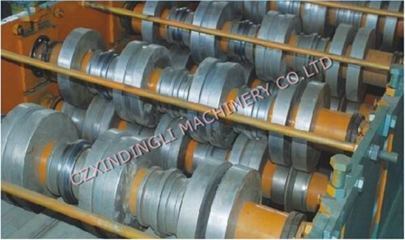 Automatic Metal Floor Deck Roll Forming Machine