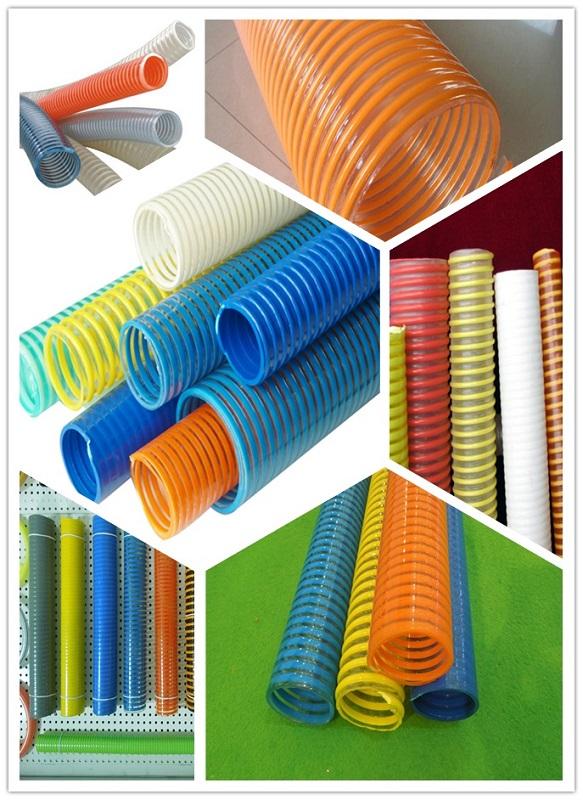 Anti-Abrasion Anti-Corrsion Anti-Aging PVC Suction Hose