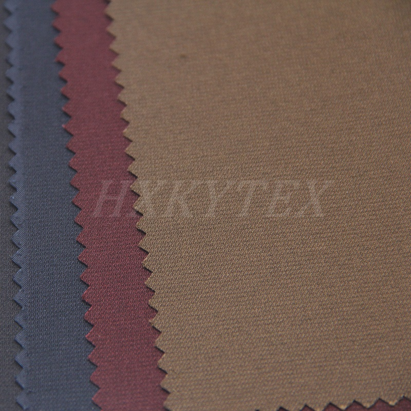Lustre Fiber with Spandex Polyester Fabric for Casual Jacket
