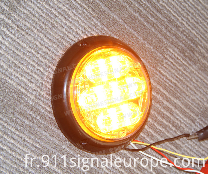 Vehicle Surface Mount LED Emergency Beacon (S27)