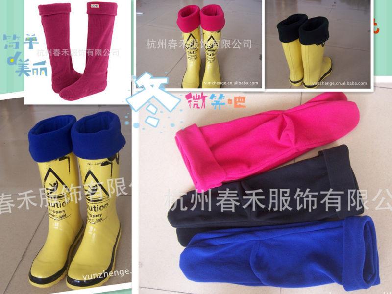 New Design Women Boot Socks/High Quality Fleece Sock Liners/New Design Fleece Sock Liners