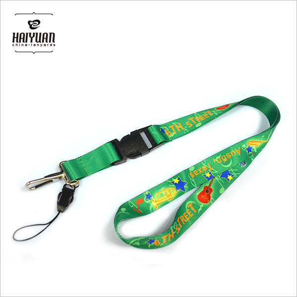 Smooth Custom Cute Girls Cartoon Lanyard for Promotional