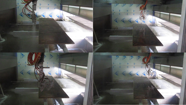 Good Quality Automatic Painting Spray for MDF and Plywood