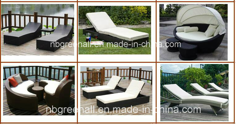 PE Rattan Chaise Lounge Hotel Furniture
