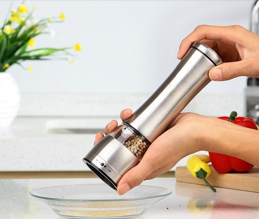 High Quality Wooden Manual Salt Pepper Mill