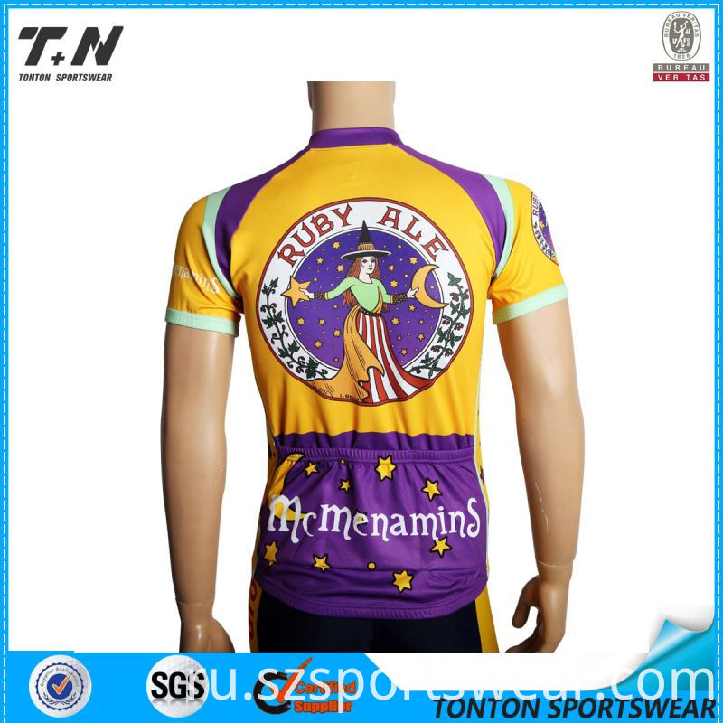 2015 Wholesale China Custom Cycling Jersey Manufacturer