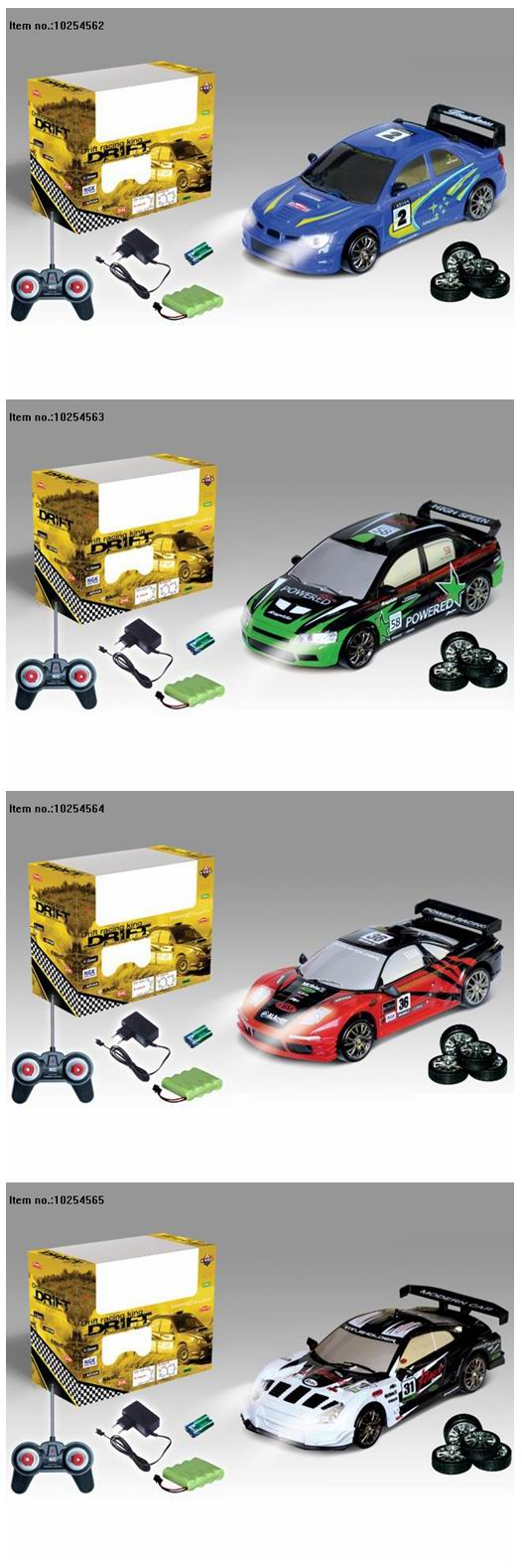 2.4G Four Function R/C Car Toys for Kids