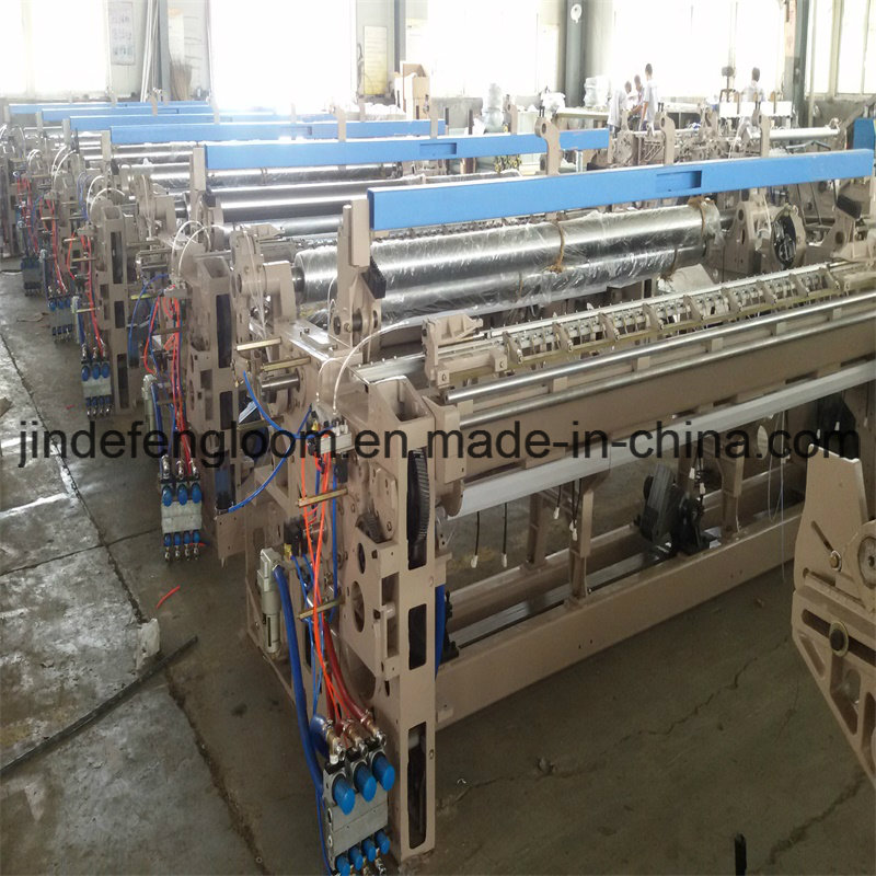High Quality Denim Fabric Weaving Loom Double Nozzle Airjet Machine