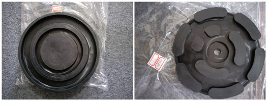 Round Mounts Rubber Pads Blocks for Lift Car Jack