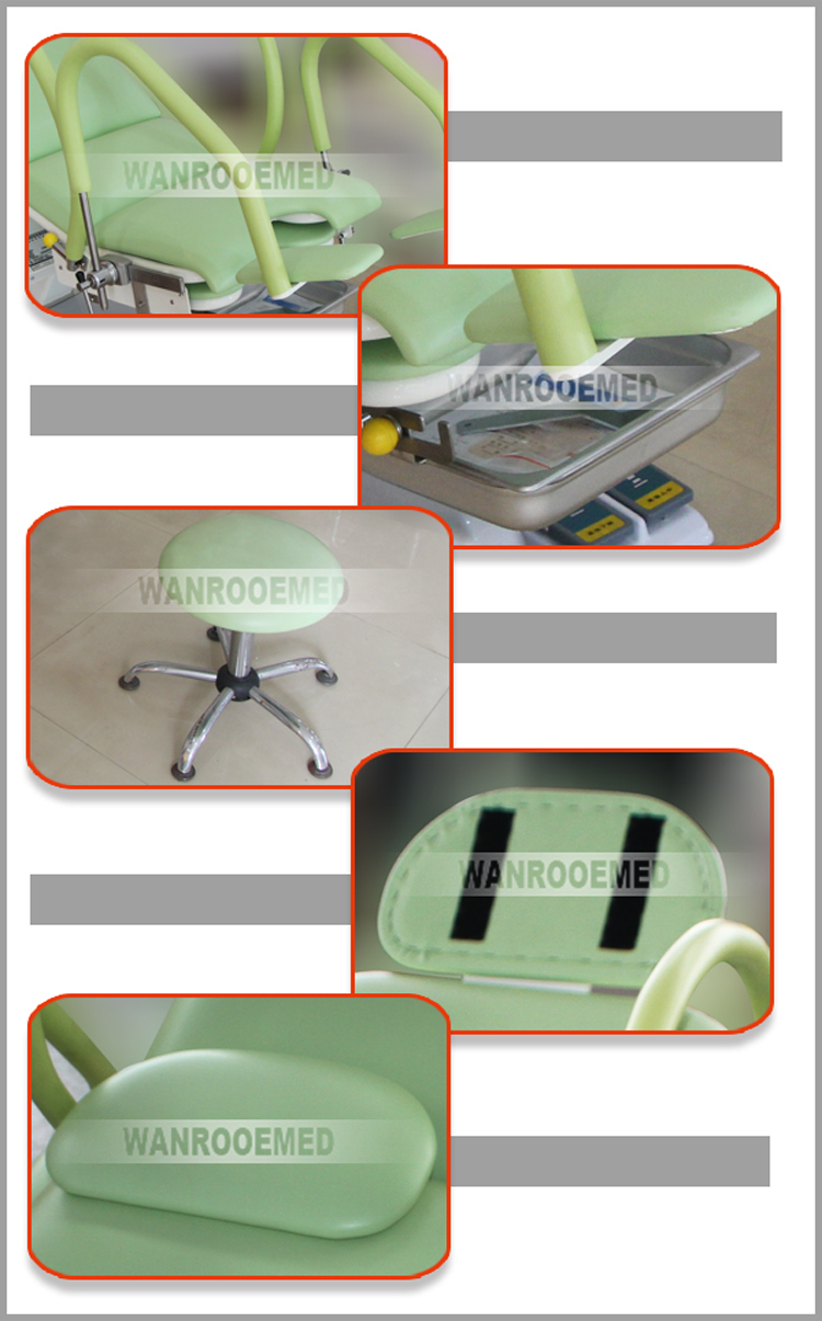 a-S105b Hospital Supplies Obstetric Table Height Adjustable Obstetric Delivery Bed
