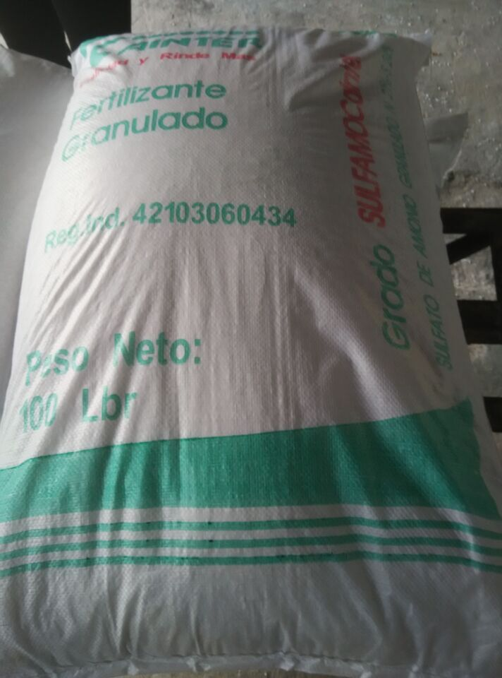 N 21% 2-5mm Fertilizer Ammonium Sulphate