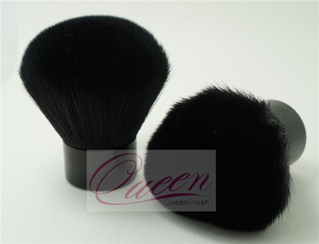 35mm Diameter Black Cosmetic Powder Brush