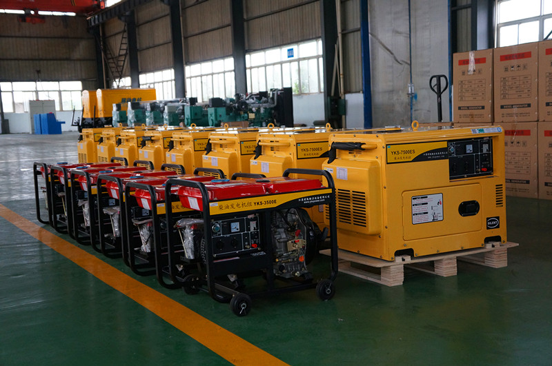 10kVA Portable Air Cooled Diesel Engine Electric Generator Power Generation